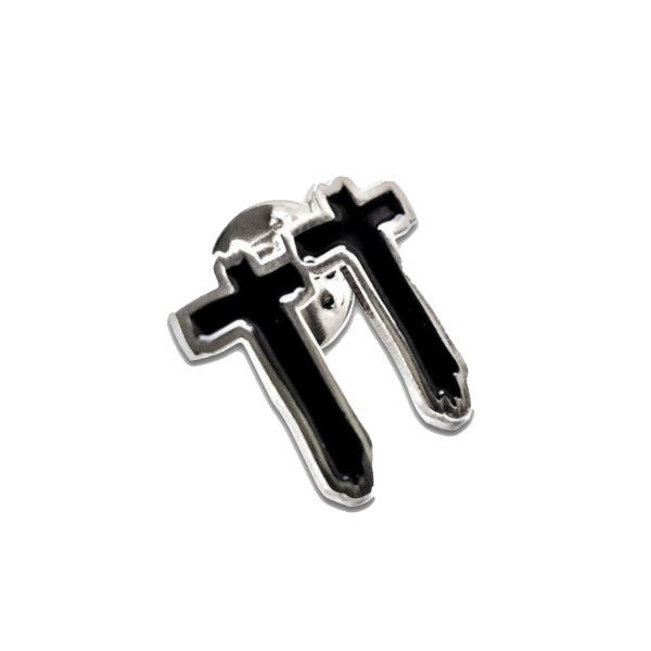 Timmy Trumpet - Crosses Enamel Pin