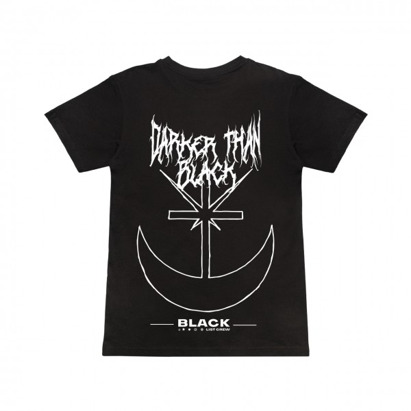 Blacklist - Darker Than Black T-Shirt Extra Large (B-Ware)