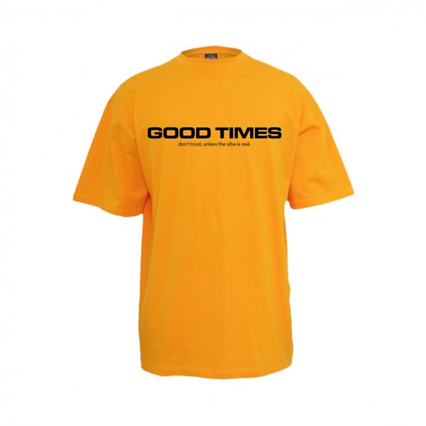 WE ARE YZZY - Good Times T-Shirt Orange