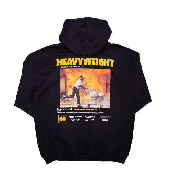 Heavyweight Records - Man on Fire Hoodie