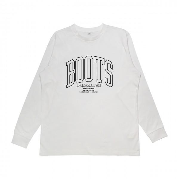 Bootshaus - Basic 20 White Longsleeve