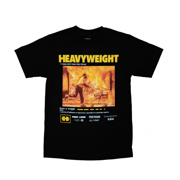 Heavyweight Records - Man on Fire Shirt
