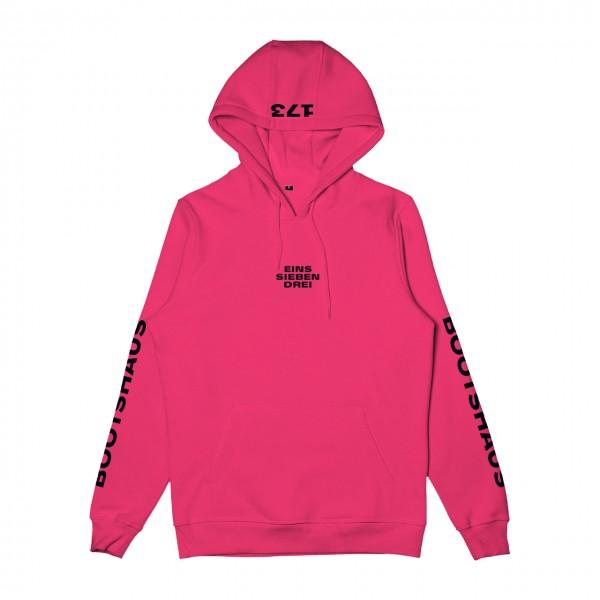 Bootshaus - Colored Hoodie Hibiskus Pink