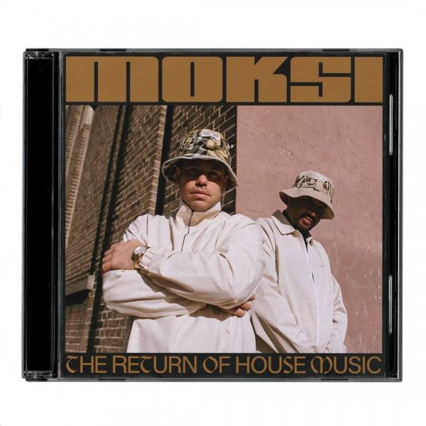 Moksi - The return of house music CD