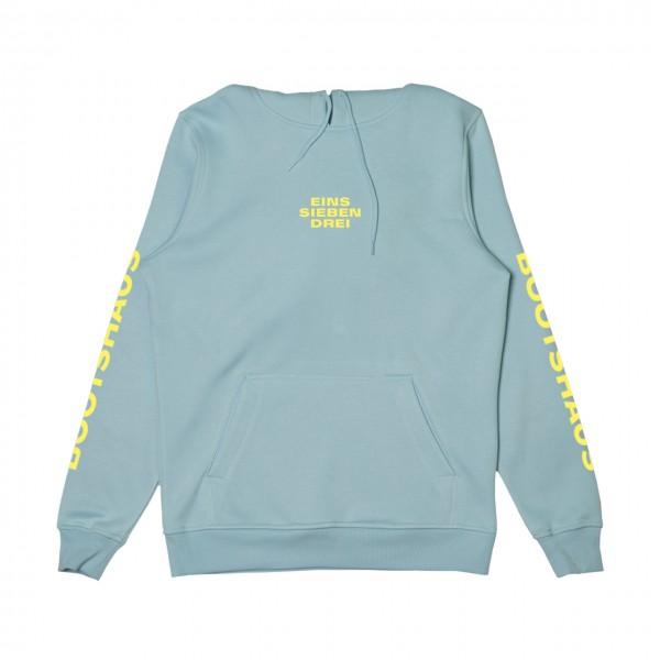 Bootshaus - Colored Hoodie Ozeanblau Medium (B-Ware)