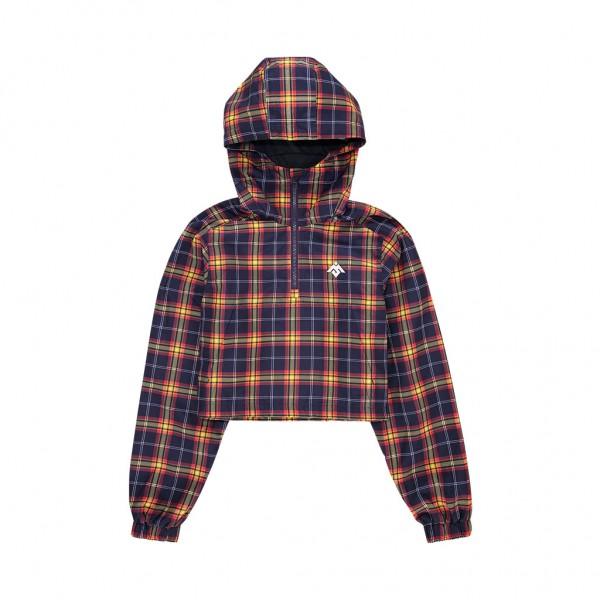 Moksi - Tartan Womens Cropped Jacket