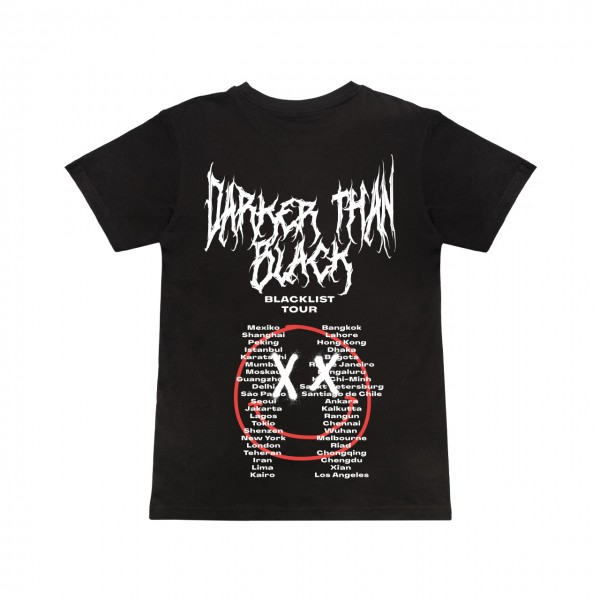 Blacklist - Darker Than Black Tour T-Shirt