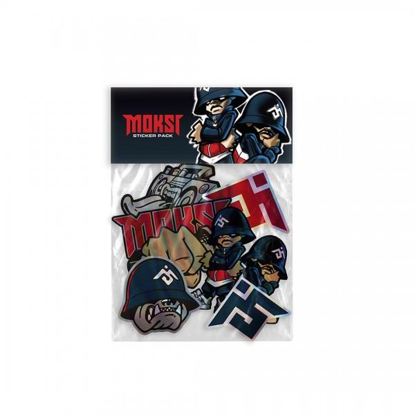Moksi - Stickerpack