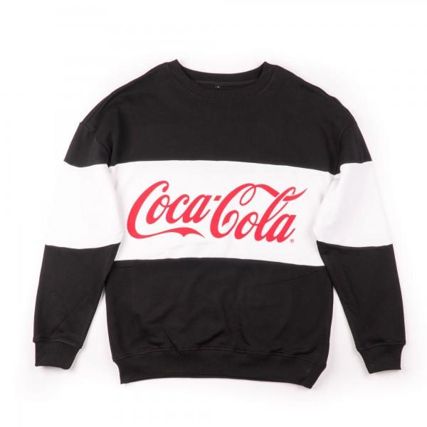 Coca Cola - Stripe Oversize Crewneck