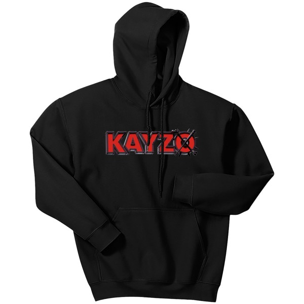 Kayzo - Holiday Logo Black Hoodie